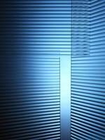 sfondo blu vetro photo