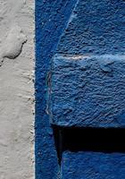 jeu de lumière et de couleur du mur photo