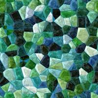 mosaïque transparente de carreaux de couleur