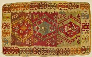 tapis turc traditionnel fait à la main