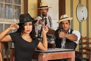 gangsters de l'ère de la prohibition photo