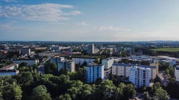 vue aérienne des bâtiments de la ville pendant la journée