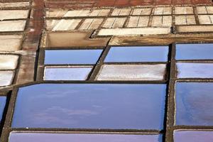 raffinerie de sel, saline de janubio, lanzarote photo