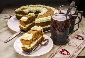 gâteau au thé et aux carottes