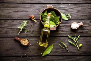 ingrédients méditerranéens photo