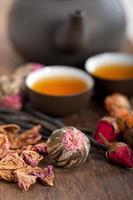 tisane florale à la chinoise photo