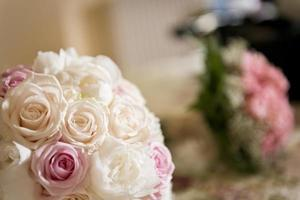 bouquet de mariage de fleurs photo
