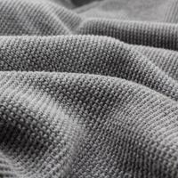 tissu gris comme arrière-plan. photo