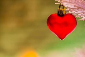 coeur de noel photo