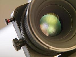 objectif de la caméra photo