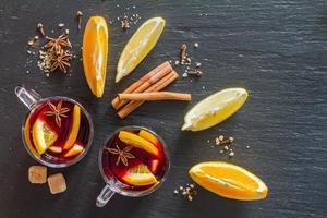 ingrédients du vin chaud