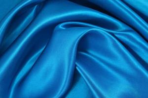 fond de satin bleu photo