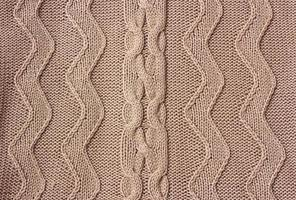 tissu tricoté à texture