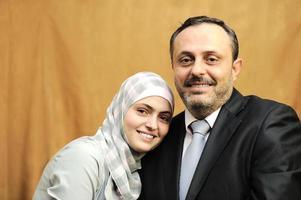 père et fille, aimant photo