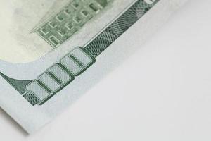 billet de cent dollars américains photo