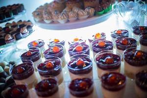 dessert de la forêt noire photo