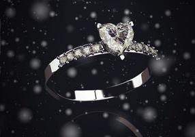 belles bagues de bijoux (image 3D haute résolution)