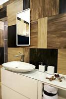 intérieur de la salle de bain photo