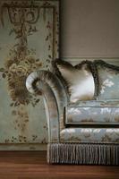 détail du canapé photo