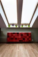 grenier avec radiateur moderne photo