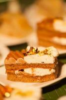 desserts et nourriture photo