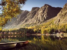 vue paysage du lac kachura