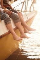 yacht à pied photo