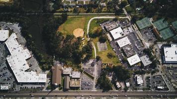 Vue aérienne de West Ashley, Charleston