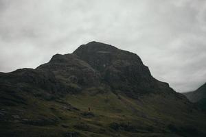 chaîne de montagnes morose photo