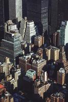 photographie aérienne de bâtiments photo