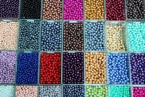 perles colorées photo