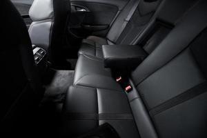 sièges d'auto arrière de luxe