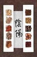 phytothérapie yin et yang photo