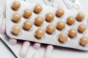 pilules et comprimés photo