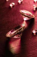 différents diamants photo