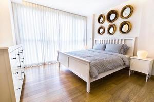 design d'intérieur: chambre à coucher moderne photo