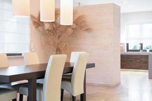 salle à manger élégante photo