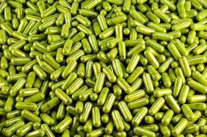 capsule d'herbe photo