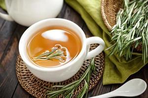 thé au romarin photo