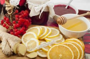 produits de guérison naturels pour le rhume photo