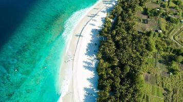plage sur les îles maldives photo