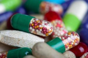 fond de pilules photo