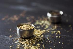 thé de fleur de sureau séché photo