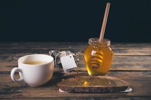 petit déjeuner au miel photo