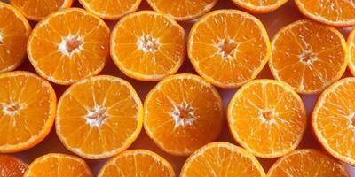 fond de mandarine