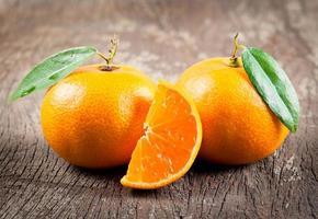 oranges fraîches photo