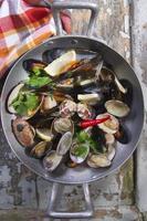 soupe de fruits de mer photo