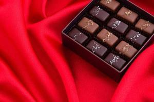 chocolat d'occasion spéciale photo