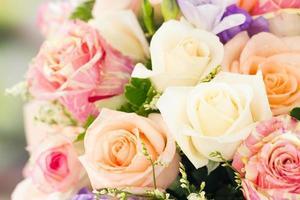 bouquet de roses photo