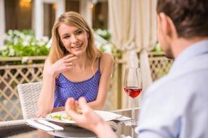 un rendez-vous romantique